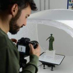 Acquisizione ottica di un reperto: Museo archeologico di Egnazia (BR) - Progetto Musas