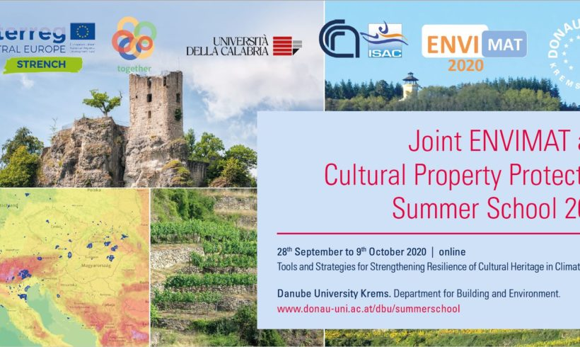 Joint ENVIMAT and C.P.P. Summer School 2020
